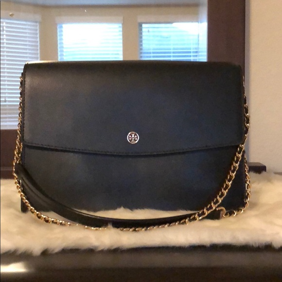161e0f570f6b Authentic Tory Burch Parker Convertible Shoulder. M 5bdb93e2951996947838729b